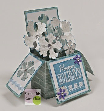 Scrapbook, Papercraft, 12 Days of Christmas Blog Hop