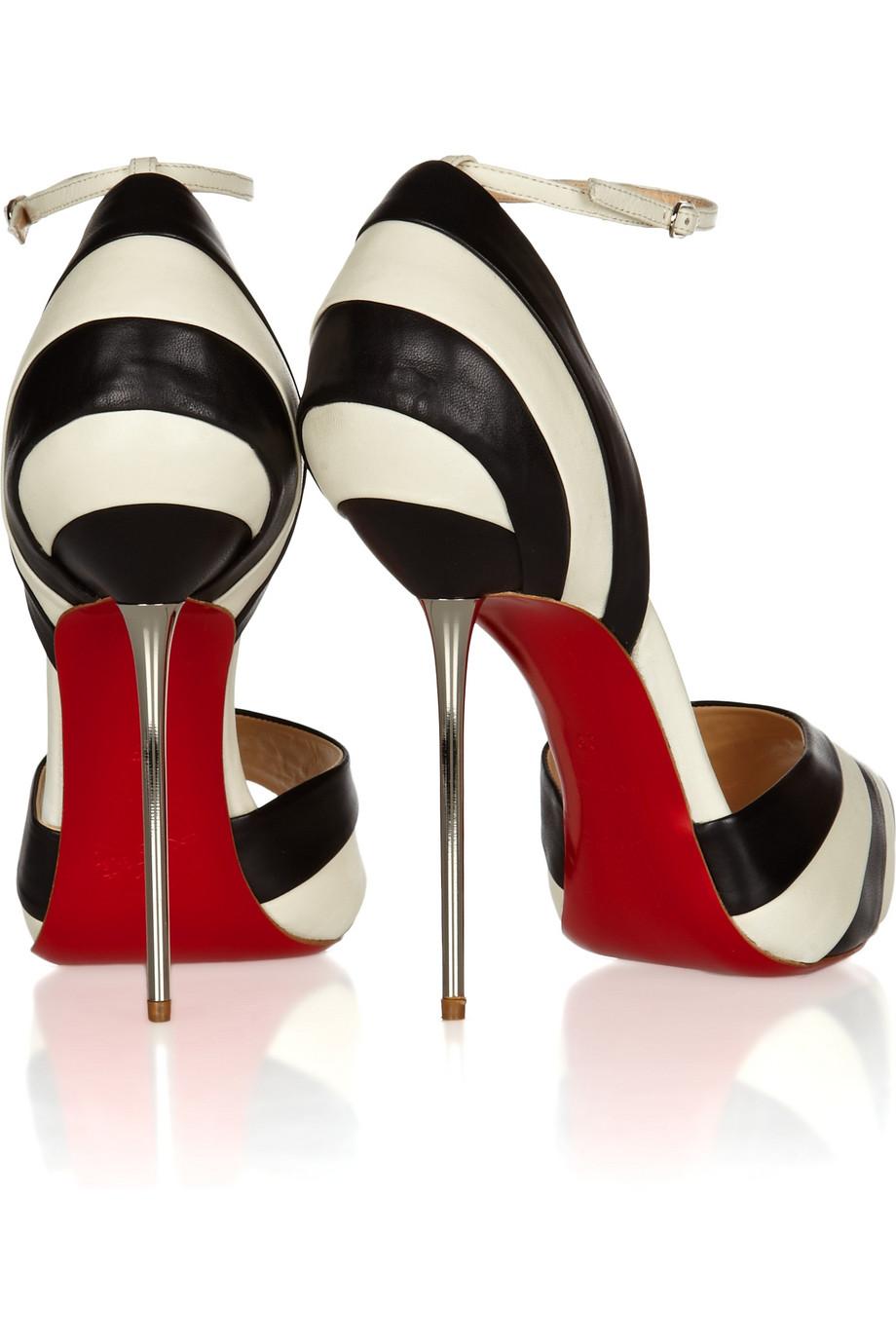 fake loubitons - Life\u0026#39;s a shoe: Black and White Louboutins