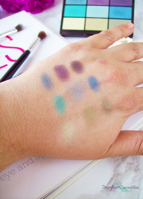 Gosh, 9 shades, to have fun with in LA, palette