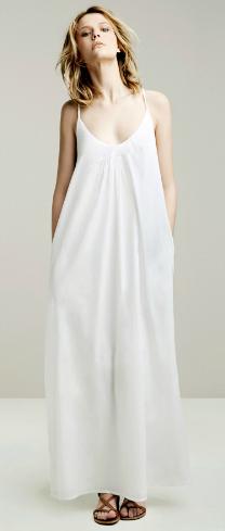 vestidos largos verano 2011 Zara