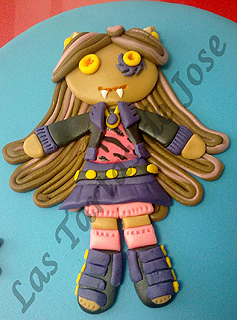 Tarta Monster High. Las Tartas de Jose. Castellón.