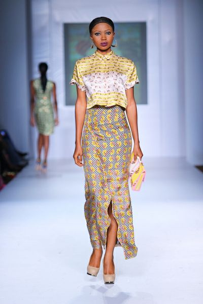 MTN Lagos Fashion and deisgn week: Jewel by lisa nigerian fashion design