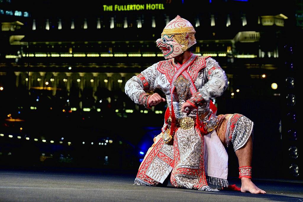 Khon performer