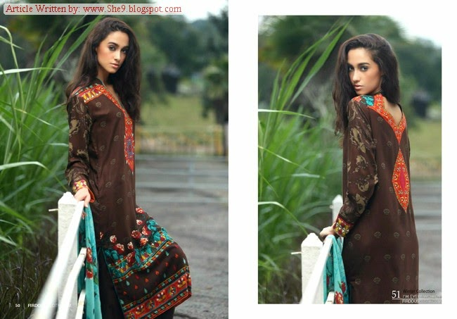 Firdous Pashmina Collection 2014