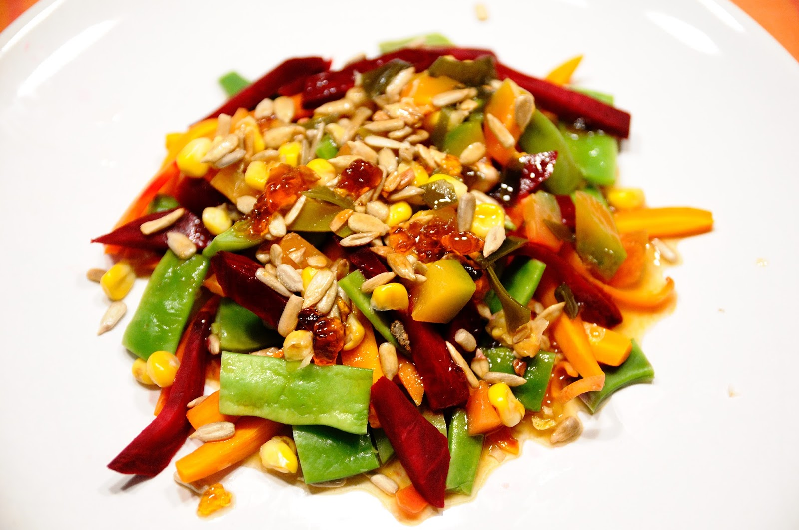Ensalada de verduras al vapor cocinar para nutrir for Cocinar verduras al vapor