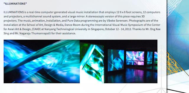 Vibeke Sorensen's Visual Music Installation | Beyond 3D Festival ZKMKarlsruhe