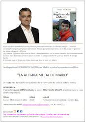 Presentación en Madrid libro La alegría muda de Mario