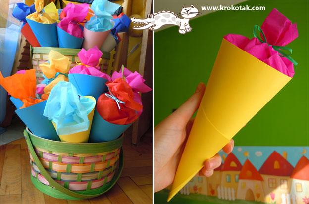 Упаковка для конфет в детский сад своими руками