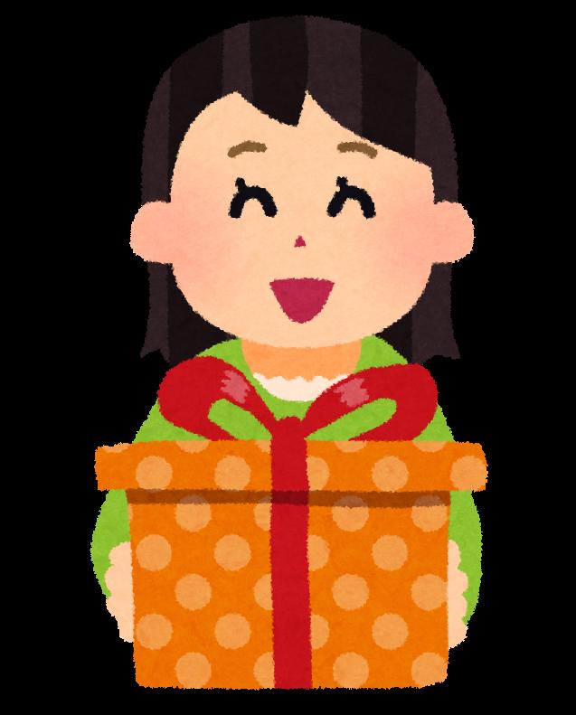 「贈り物 イラスト」の画像検索結果