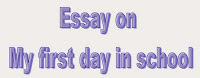 My Last Day at School Essay Writing