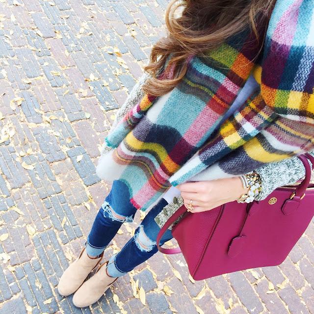 Blanket scarf inspo