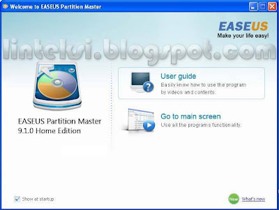 Welcome to EASEUS Partition Master