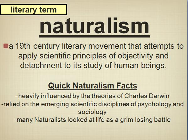 Use Of Naturalism In To Build A Fire