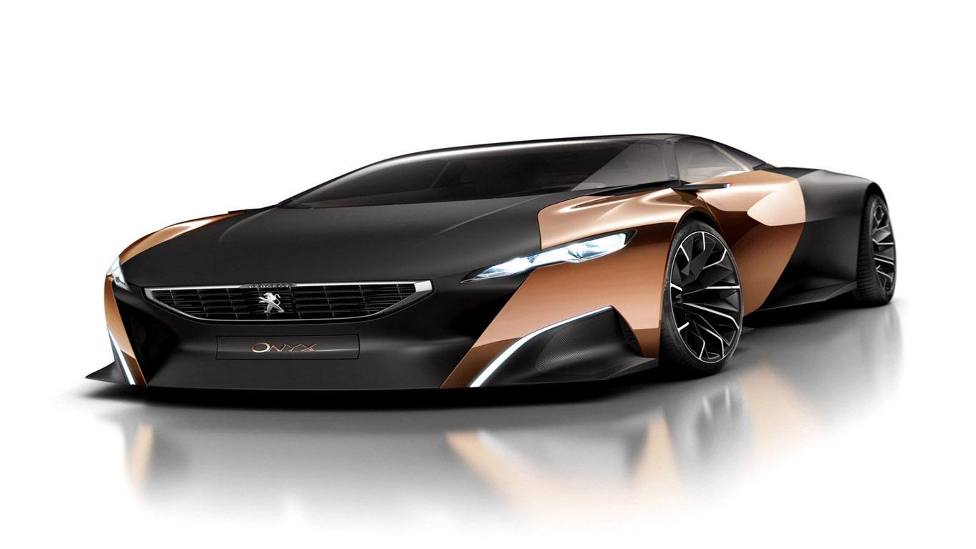 Paris Motor Show 2012 Peugeot Onyx Concept Dream