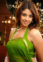 Richa, Gangopadhyay, in, Half, Saree, cleavage show,