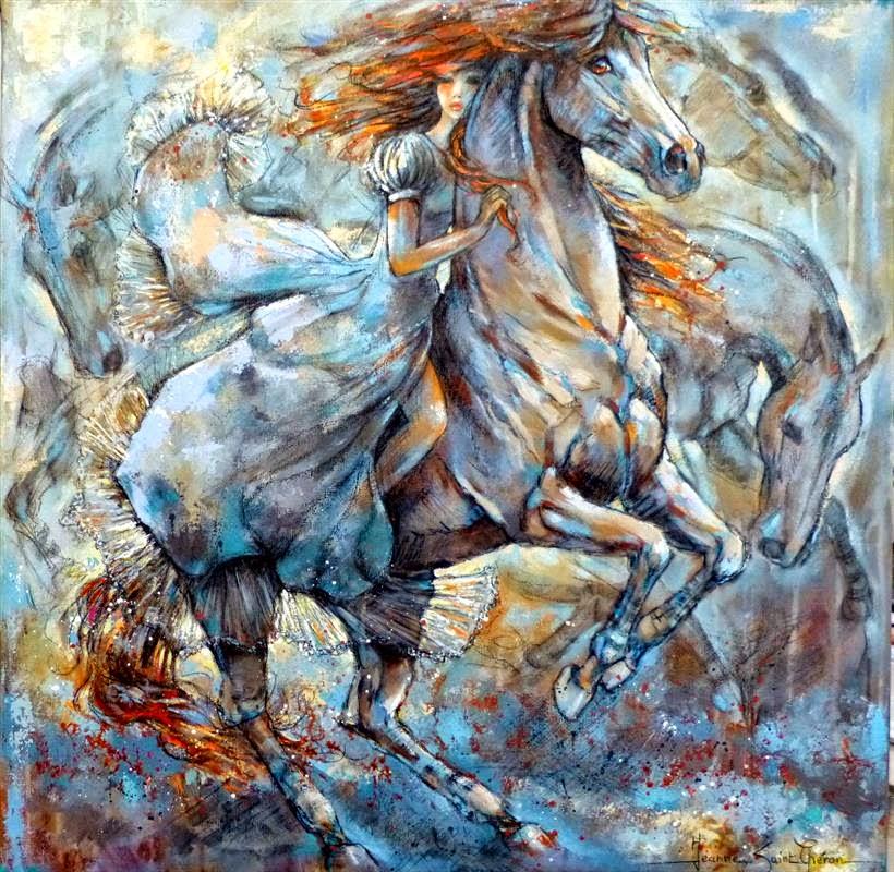 Grandolina Arte: Jeanne Saint Ch�ron