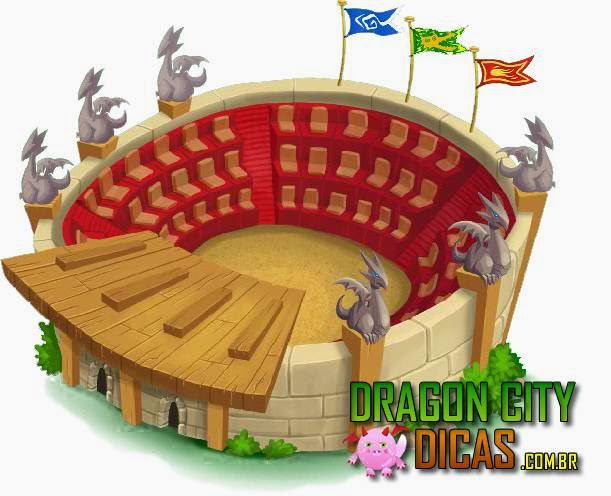 Estádio do Dragon City - Torneios