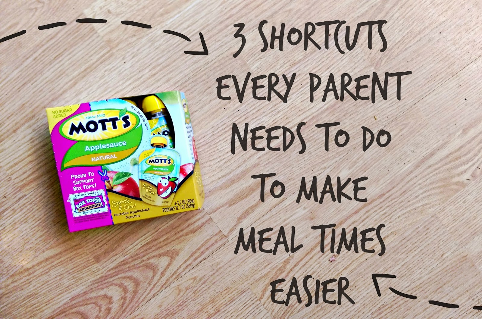 3 Shortcuts Every Parent Needs to do to Make Eating Times Easier #Mott'sGood&Honest #ad @motts