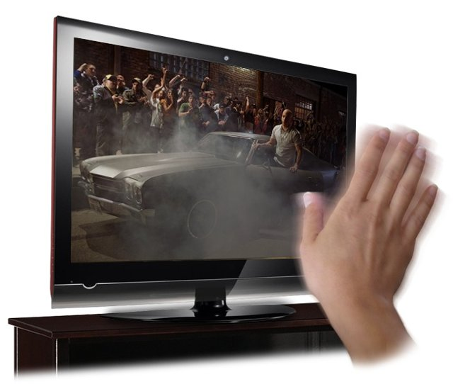 Image: Controlling media player by hand gesture : Intelligent computing
