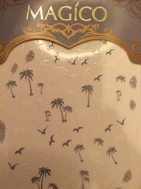 Born Pretty Store Palm Tree Nail Decals