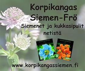 Blogiyhteistyössä Korpikangas Siemen-Frö