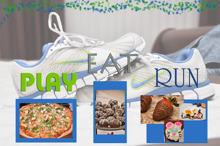Play, Eat, RUN