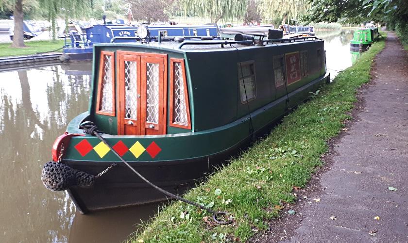 Narrowboat Mind Like Water
