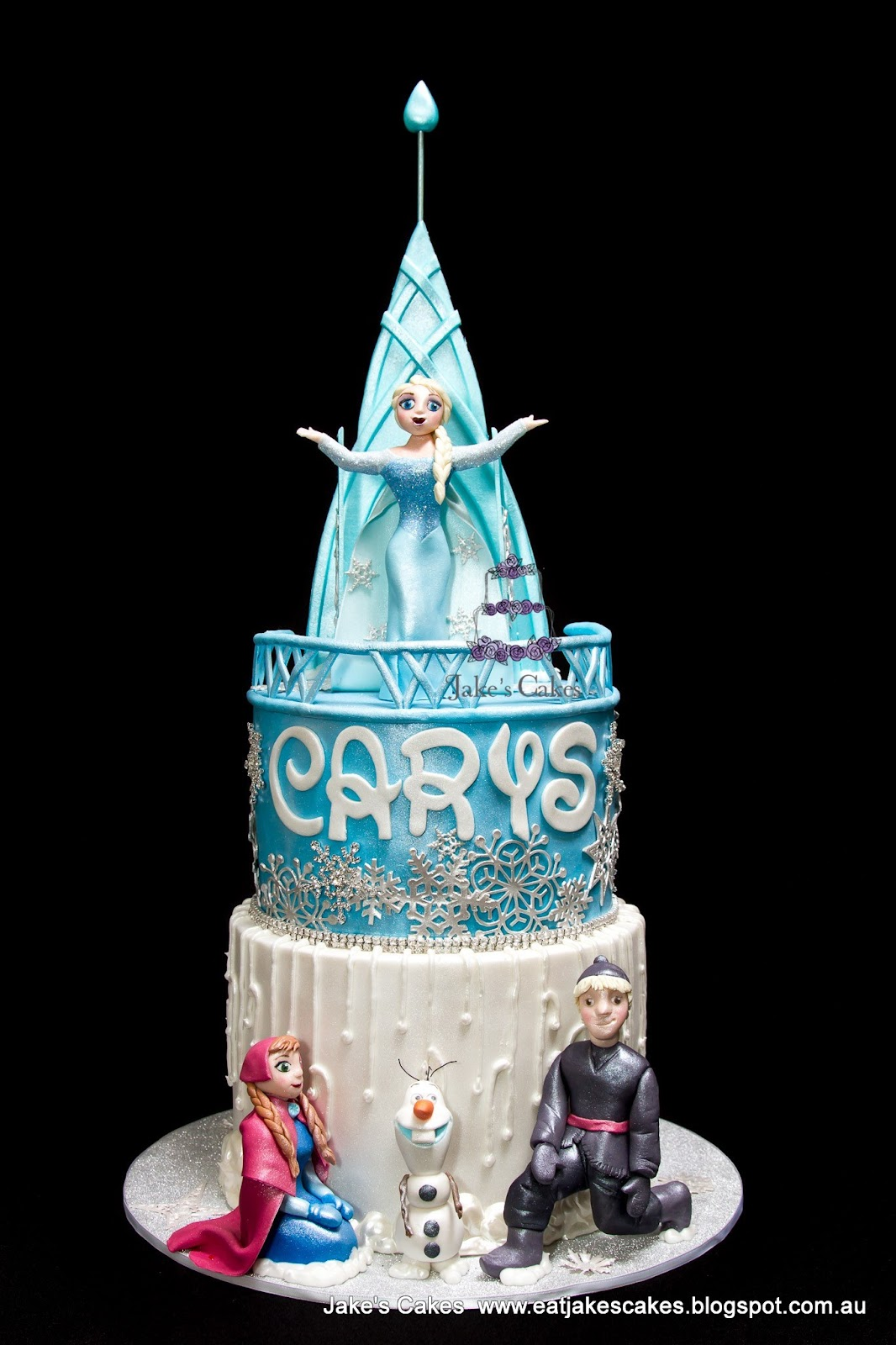Jakes Cakes: My Daughters Frozen 4th Birthday Cake