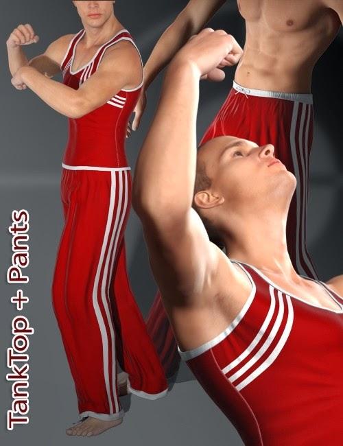 Mec4D Après Gym Set pour Genèse 2 Homme