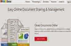 Zoho Docs: para crear, editar, organizar, y compartir documentos online gratis