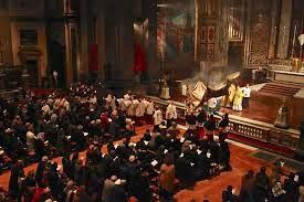 la misa del sábado santo