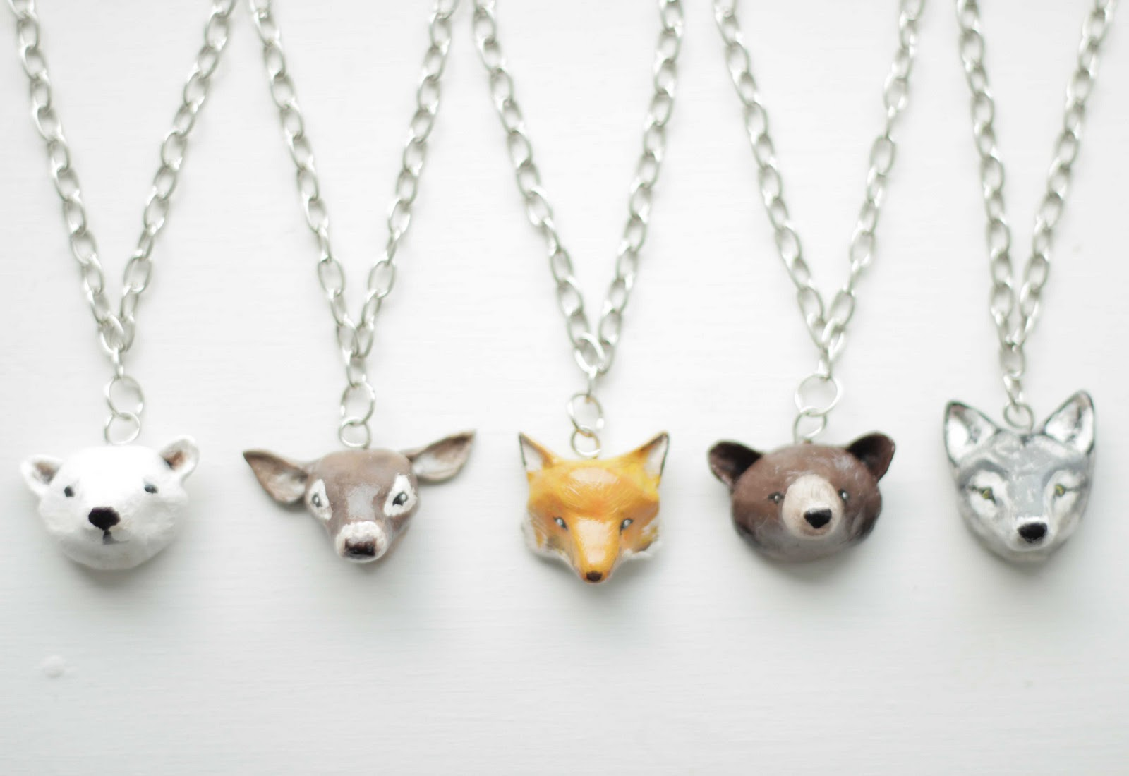 Little projectiles animal pendants animal pendants mozeypictures Images