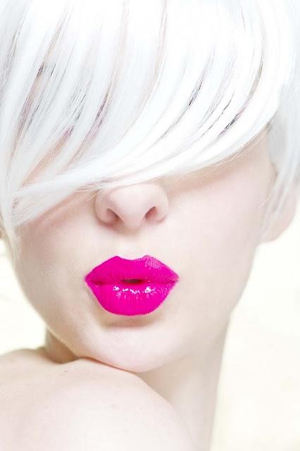 lèvres fluo