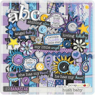 http://scraporchard.com/market/Hush-Baby-Digital-Scrapbook-Kit.html