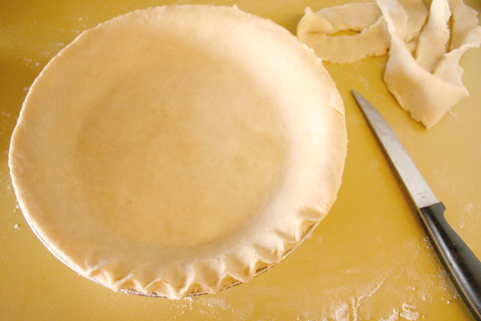 Sweet Lavender Bake Shoppe: recipe: basic pie dough...