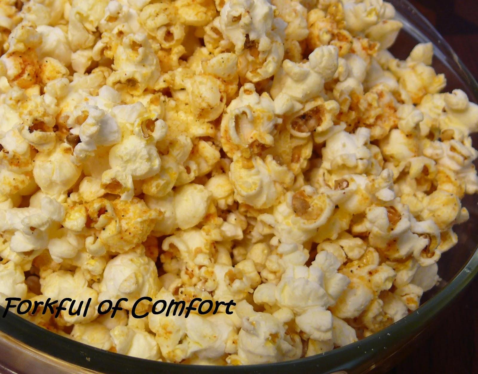 Cajun-Spiced Popcorn Recipe — Dishmaps