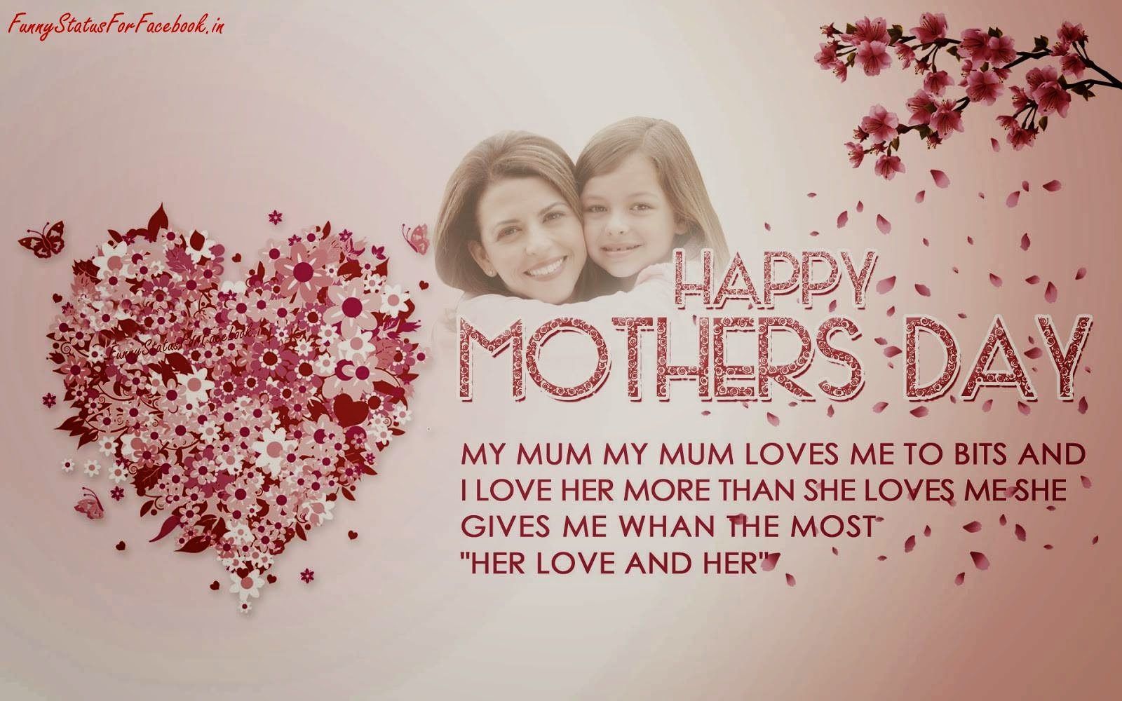 Happy Mothers Day Quotes Greeting Cards Wallpapers With Messages. U003e