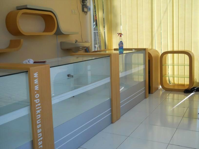 Etalase Counter Hp - Dari Kaca & Triplek 08
