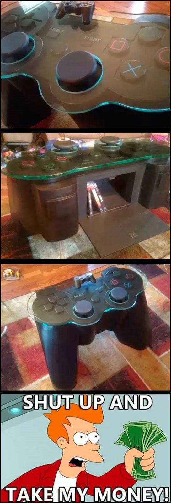 La mesa que todo Gamer desea tener