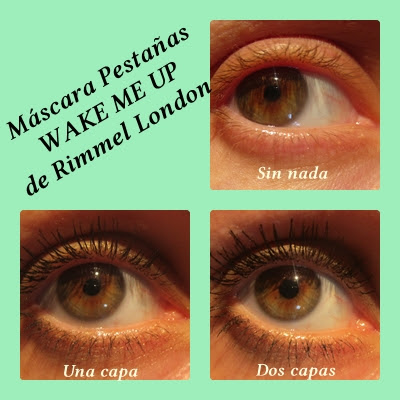 Máscara de pestañas WAKE ME UP Rimmel London; Novedades verano 2015