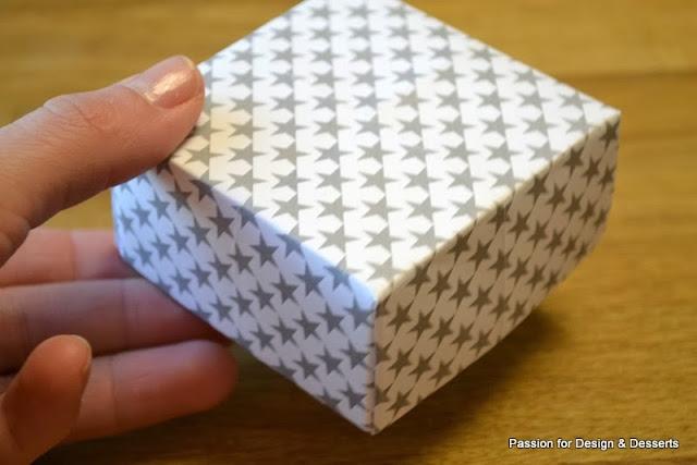 Tee-se-itse -lahjalaatikko paperista