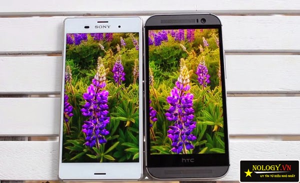 Sony Xperia Z3 Nhật Bản và HTC One M8.