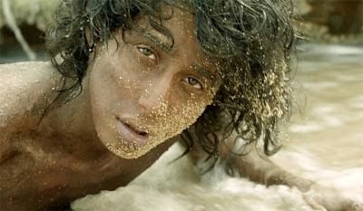 Pi Patel makes it to the Mexican Coast, Suraj Sharma as Pi Patel, Life of Pi Directed by Ang Lee