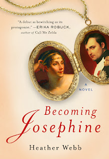book cover: Becoming Josephine by Heather Webb