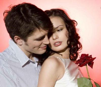 couple, man and woman, red rose, love  - خطوات تجعلك تتزوج حبيبك فى اقل من 3 سنوات