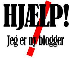 Ny i blog verden??? Så se her...