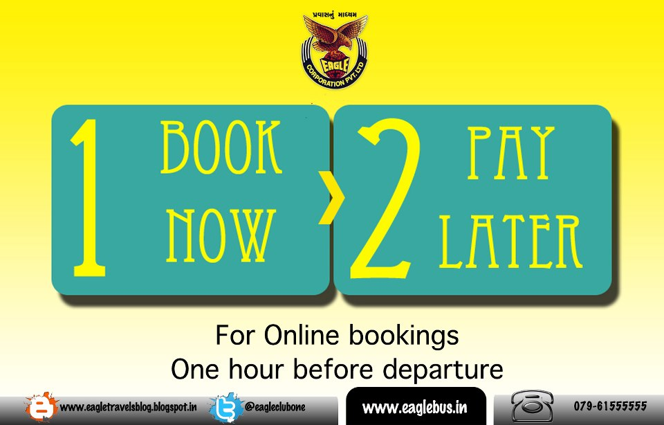 Eagle travels blog pay later for Book now pay later vacation