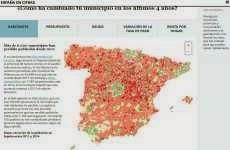 España en Cifras: información demográfica y económica de España en un mapa interactivo online