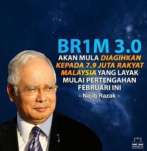 Semakan Status BR1M 3.0