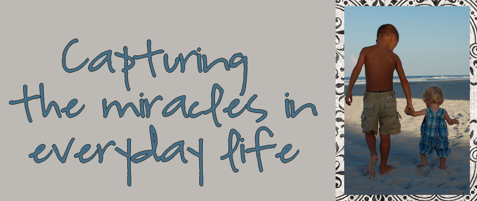 Capturing the Miracles in Everyday Life